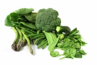 ผักสีเขียว