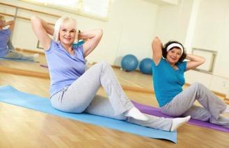 การออกกำลังกายสำหรับผู้หญิงอายุ 40 ปีขึ้นไป