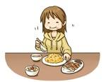 กินมื้อเย็น