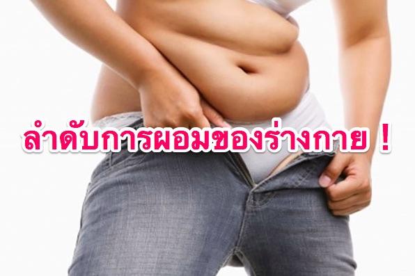 ลำดับการผอมของร่างกาย!ลดความอ้วนอย่างได้ผลด้วยการเข้าใจกลไกของร่างกาย