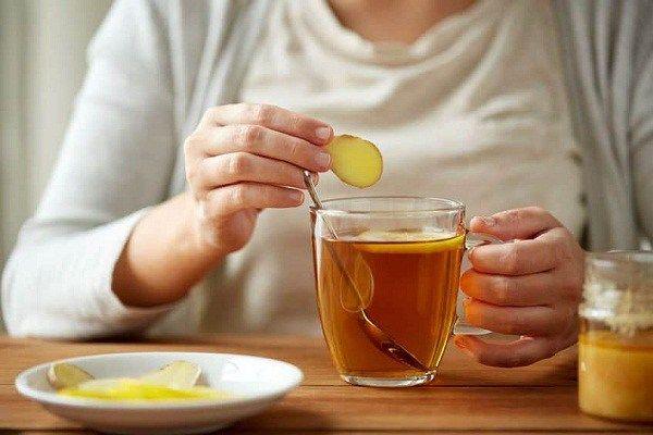 ลดความอ้วนด้วยชาขิง